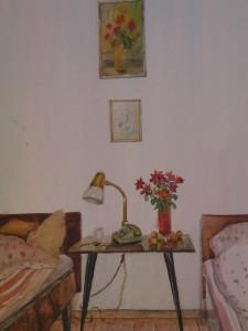 Комната. 1994. Бум. акв. 42 -30