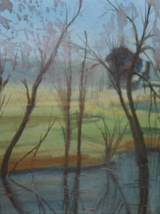 Осенний денёк. 2002, Бум. акв. 33, 5 - 29,5