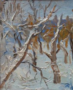 Зимний танец, к.м. 1989