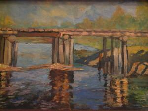 Мост. Отражение. к.м. 1992