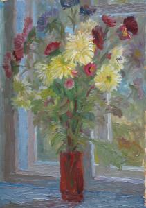 Осенний букет. к.м. 1990