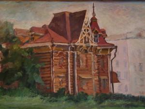 Старинный дом. к.м. 1993